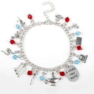 ⭐️2/$25 Disney's Aladdin inspired Charm Bracelet